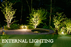 external garden lighting lytham